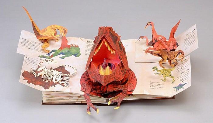 仕掛け絵本 恐竜時代